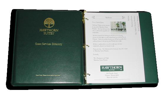 Hotel Guest Book